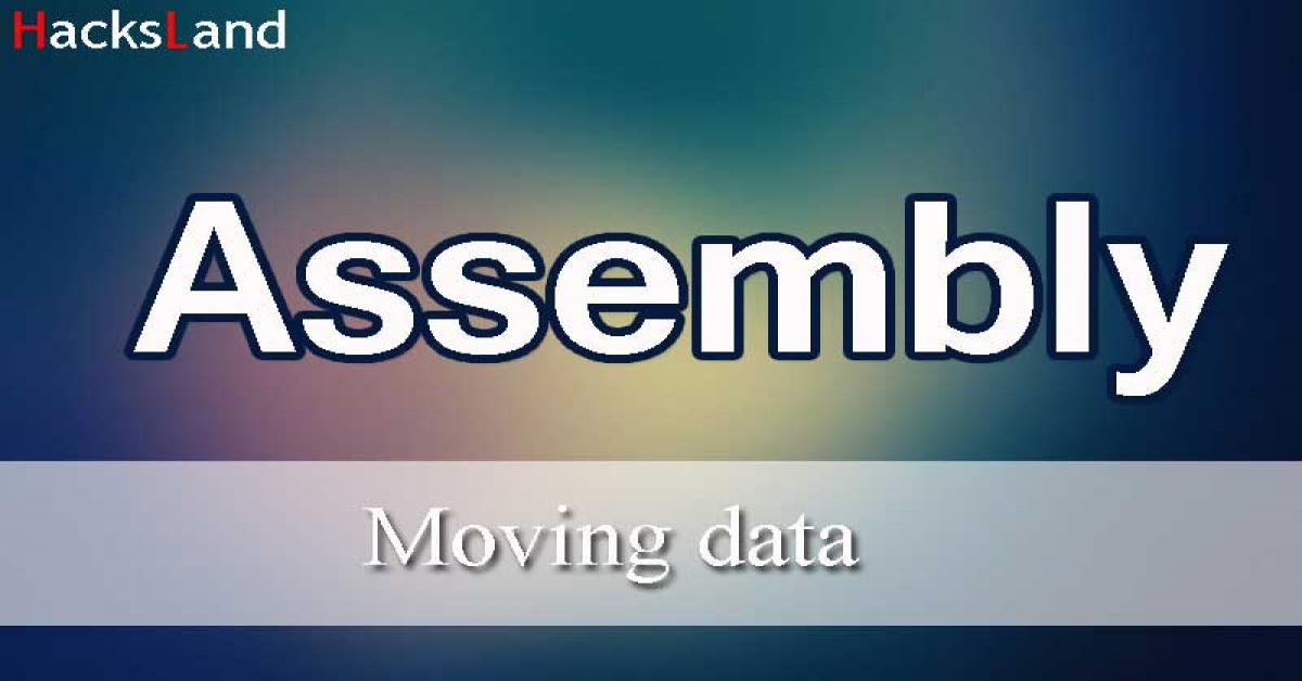 Moving data with assembly