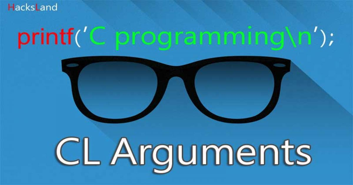 Command line arguments in C
